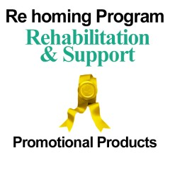 Re homing Program Promotional products