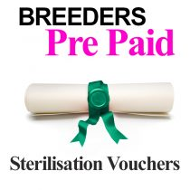 Breeders Sterilisation Vouchers For Dogs