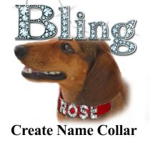Bling Create Name Collar