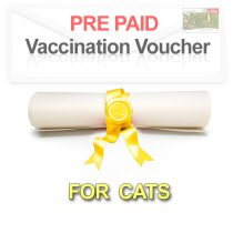 Pre Paid Vaccination Voucher for Cats