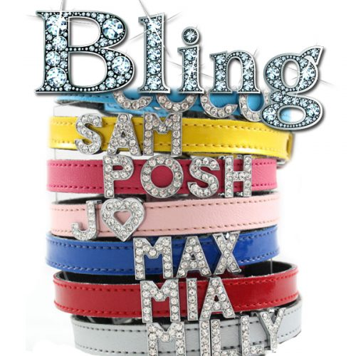 Bling Small Dog Collars 10mm