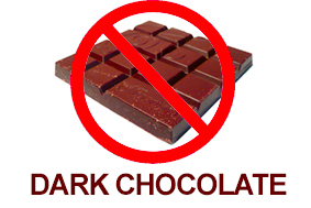 Avoid giving Pets Dark Chocolate