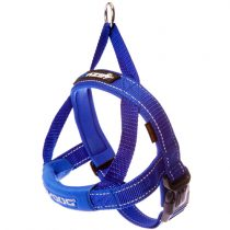 EZYDOG Quick Fit Harness Large BLUE