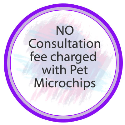 No Consult Fee for Microchips
